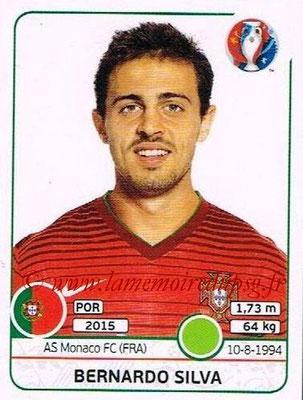 Panini Euro 2016 Stickers - N° 594 - Bernardo SILVA (Portugal)