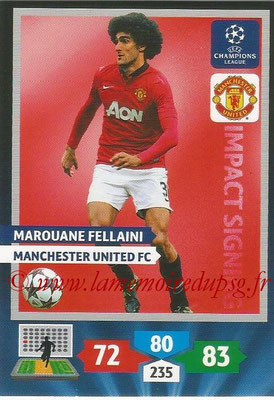 2013-14 - Adrenalyn XL champions League N° 278 - Marouane FELLAINI (Manchester City FC) (Impact Signing)