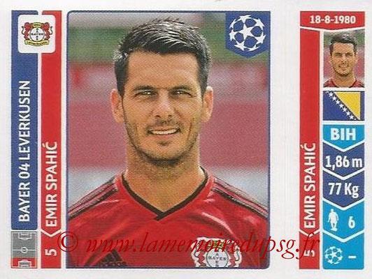 2014-15 - Panini Champions League N° 219 - Emir SPAHIC (Bayer 04 Leverkusen)