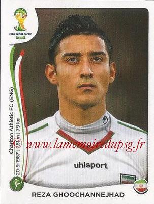 2014 - Panini FIFA World Cup Brazil Stickers - N° 465 - Reza GHOOCHANNEJHAD (Iran)