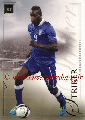 2014 - Futera World Football Unique - N° 065 - Mario BALOTELLI (Striker)