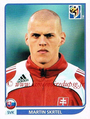 2010 - Panini FIFA World Cup South Africa Stickers - N° 470 - Martin SKRTEL (Slovaquie)