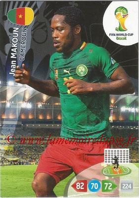 2014 - Panini FIFA World Cup Brazil Adrenalyn XL - N° 065 - Jean MAKOUN (Cameroun)