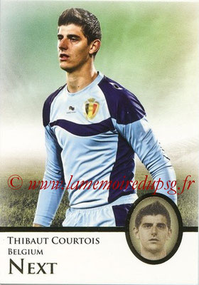 2013 - Futera World Football Unique - N° 092 - Thibaut COURTOIS (Belgique) (Next)