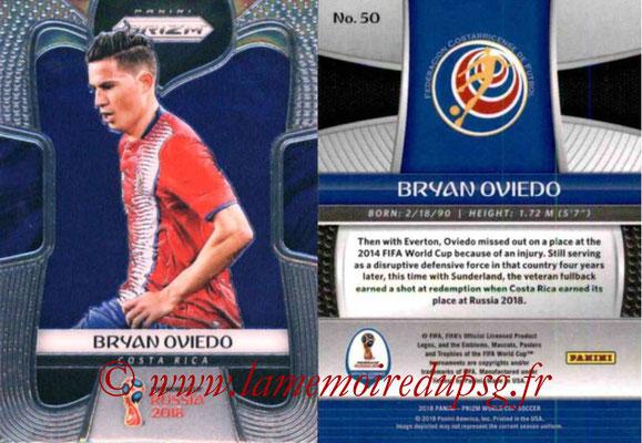 2018 - Panini Prizm FIFA World Cup Russia - N° 050 - Bryan OVIEDO (Costa Rica)