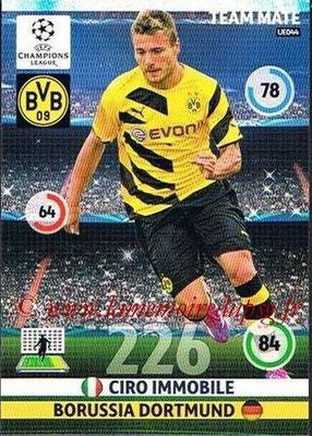 2014-15 - Adrenalyn XL champions League Update edition N° UE044 - Ciro IMMOBILE (Borussia Dortmund)