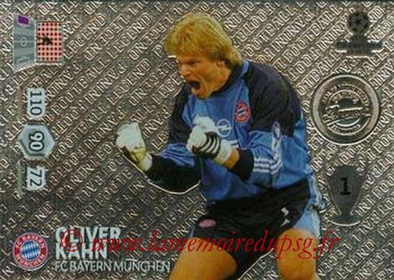 2013-14 - Adrenalyn XL champions League N° 362 - Oliver KAHN (FC Bayern Munich) (Legend)