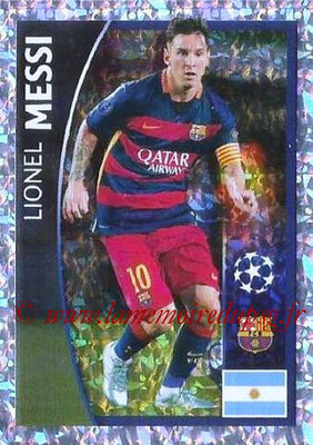 2015-16 - Topps UEFA Champions League Stickers - N° 295 - Lionel MESSI (FC Barcelone)