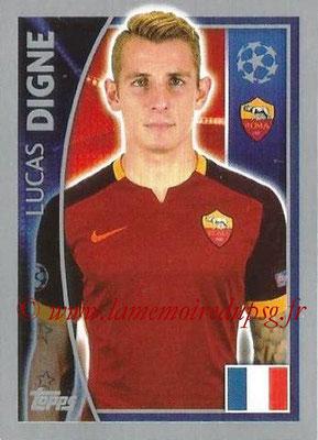 N° 339 - Lucas DIGNE (2013-??, PSG > 2015-16, Prêt à l'AS Roma, ITA)