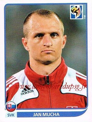 2010 - Panini FIFA World Cup South Africa Stickers - N° 469 - Jan MUCHA (Slovaquie)