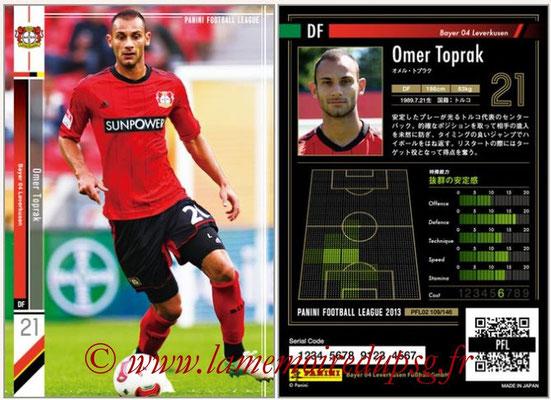 Panini Football League 2013 - PFL02 - N° 109 - Omer Toprak ( Bayer 04 Leverkusen )
