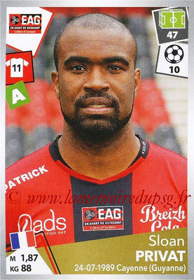 2017-18 - Panini Ligue 1 Stickers - N° 149 - Sloan PRIVAT (Guingamp)