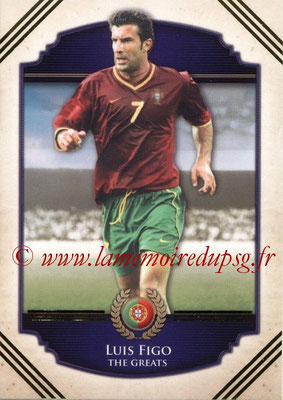 2014 - Futera World Football Unique - N° 106 - Luis FIGO (The Greats)