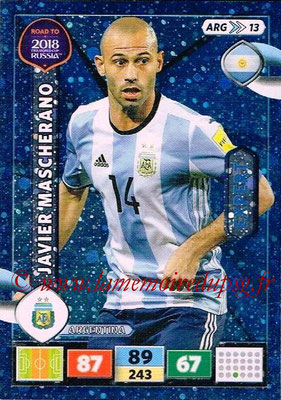 2018 - Panini Road to FIFA World Cup Russia Adrenalyn XL - N° ARG13 - Javier MASCHERANO (Argentine) (Expert)