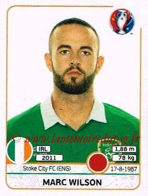 Panini Euro 2016 Stickers - N° 522 - Marc WILSON (République d'Irlande)