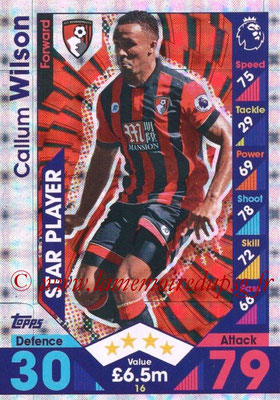 2016-17 - Topps Match Attax Premier League - N° 016