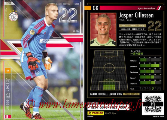 Panini Football League 2015 - PFL09 - N° 093 - Jasper CILLESSEN (Ajax) (Star)