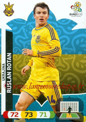 Panini Euro 2012 Cards Adrenalyn XL - N° 221 - Ruslan ROTAN (Ukraine)