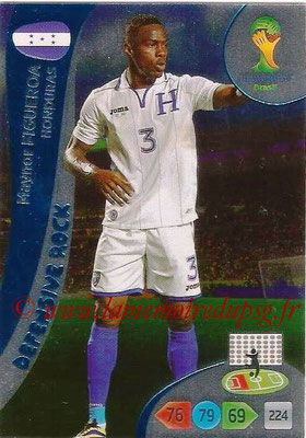 2014 - Panini FIFA World Cup Brazil Adrenalyn XL - N° 373 - Maynor FIGUEROA (Honduras) (Defensive Rock)