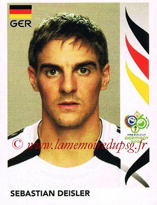 2006 - Panini FIFA World Cup Germany Stickers - N° 027 - Sebastian DEISLER (Allemangne)