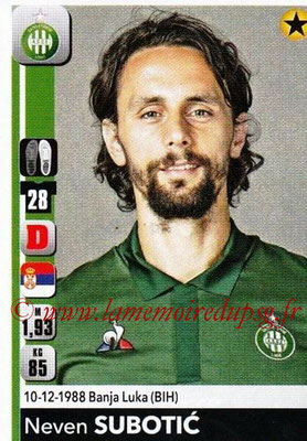 2018-19 - Panini Ligue 1 Stickers - N° 434 - Neven SUBOSIC (Saint-Etienne)