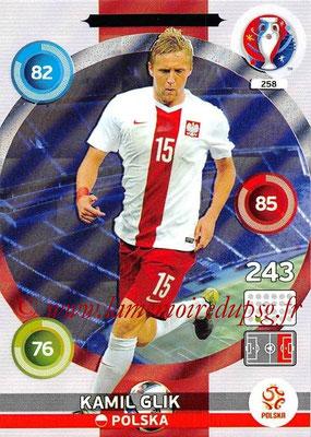 Panini Euro 2016 Cards - N° 258 - Kamil GLIK (Pologne) (Defensive Rock)