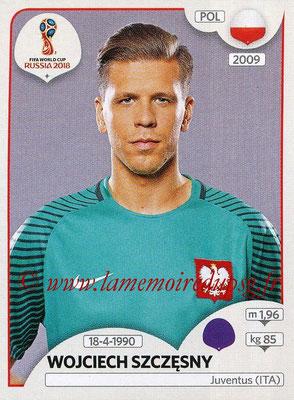 2018 - Panini FIFA World Cup Russia Stickers - N° 595 - Wojciech SZCZESNY (Pologne)