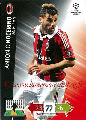 2012-13 - Adrenalyn XL champions League N° 157 - Antonio NOCERINO (Milan AC)