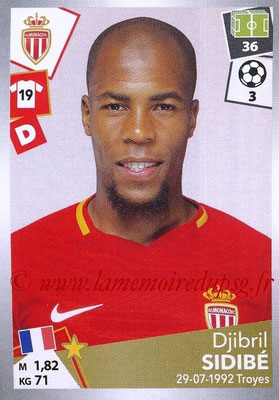 2017-18 - Panini Ligue 1 Stickers - N° 266 - Djibril SIDIBE (Monaco)
