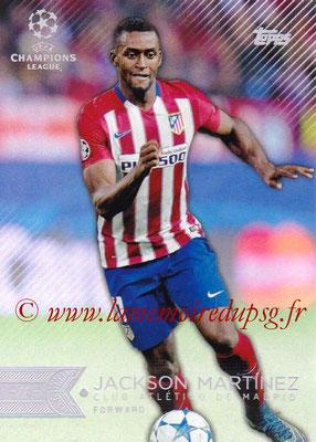 2015-16 - Topps UEFA Champions League Showcase Soccer - N° 065 - Jackson MARTINEZ (Club Atletico de Madrid)