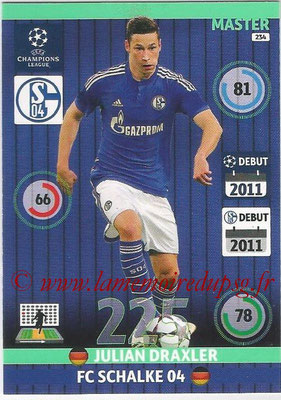 2014-15 - Adrenalyn XL champions League N° 234 - Julian DRAXLER ( FC Schalke 04) (Master)
