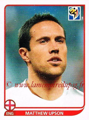 2010 - Panini FIFA World Cup South Africa Stickers - N° 189 - Matthew UPSON (Angleterre)