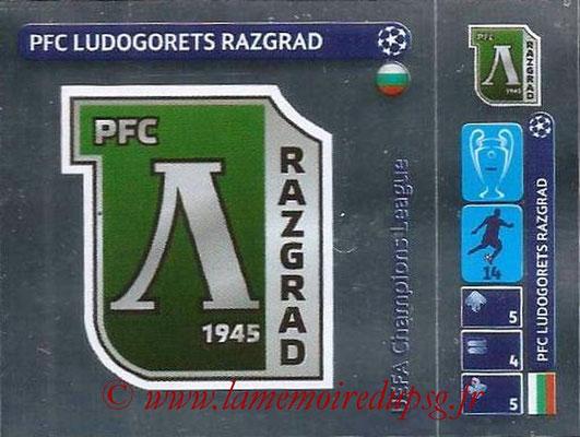 2014-15 - Panini Champions League N° 012 - Logo Ludogorets Razgrad