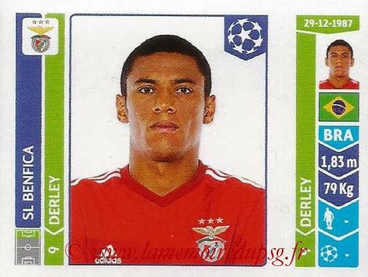 2014-15 - Panini Champions League N° 197 - DERLEY (SL Benfica)