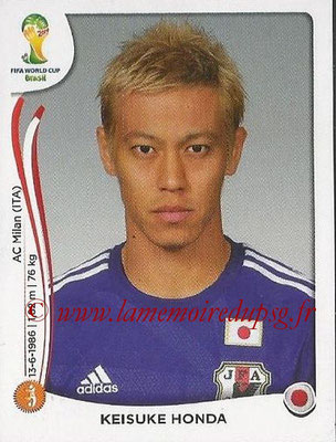 2014 - Panini FIFA World Cup Brazil Stickers - N° 253 - Keisuke HONDA (Japon)