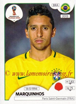 2018 - Panini FIFA World Cup Russia Stickers - N° 359 - MARQUINHOS (Bresil)