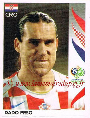 2006 - Panini FIFA World Cup Germany Stickers - N° 414 - Dado PRSO (Croatie)