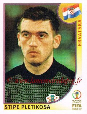 2002 - Panini FIFA World Cup Stickers - N° 477 - Stipe PLETIKOSA (Croatie)