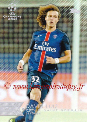 2015-16 - Topps UEFA Champions League Showcase Soccer - N° 005 - David LUIZ (Paris Saint-Germain)