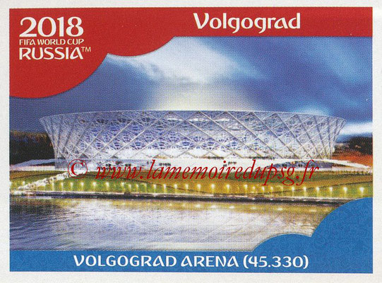 2018 - Panini FIFA World Cup Russia Stickers - N° 019 - Volgograd Arena, Volgograd (Stades et Villes)
