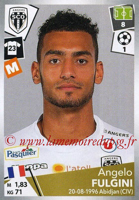 2017-18 - Panini Ligue 1 Stickers - N° 036 - Angelo FULGINI (Angers)