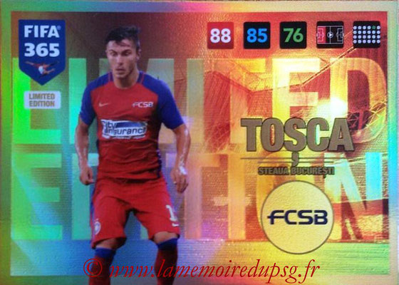 2016-17 - Panini Adrenalyn XL FIFA 365 - N° LE70 - Alin TOSCA (Steaua Bucarest) (Limited Edition)