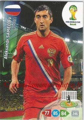 2014 - Panini FIFA World Cup Brazil Adrenalyn XL - N° 289 - Aleksandr SAMEDOV (Russie)