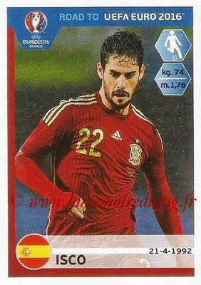 Panini Road to Euro 2016 Stickers - N° 092 - ISCO (Espagne)