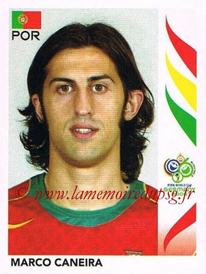 2006 - Panini FIFA World Cup Germany Stickers - N° 286 - Marco CANEIRA (Portugal)