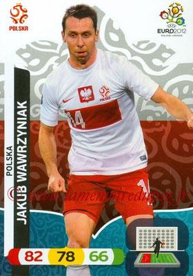 Panini Euro 2012 Cards Adrenalyn XL - N° 154 - Jakub WAWRZYNIAK (Pologne)