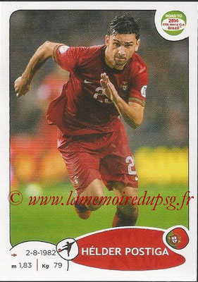 2014 - Panini Road to FIFA World Cup Brazil Stickers - N° 325 - Hélder POSTIGA (Portugal)