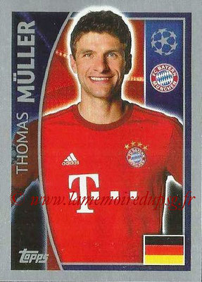 2015-16 - Topps UEFA Champions League Stickers - N° 389 - Thomas MÜLLER (FC Bayern Munich)