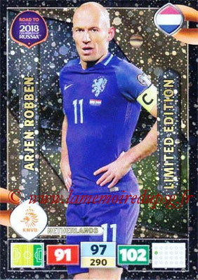 2018 - Panini Road to FIFA World Cup Russia Adrenalyn XL - N° LE-AR - Arjen ROBBEN (Pays-Bas) (Limited Edition)