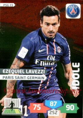 N° PSG-15 - Ezequiel LAVEZZI (Idole)